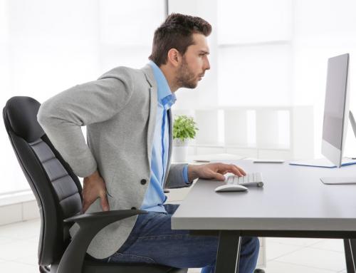 Dores que acometem as pessoas que trabalham em escritório